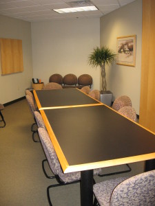 Conference and Deposition Rooms.