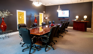 We provide the most comfortable Louisville conference rooms for depositions.
