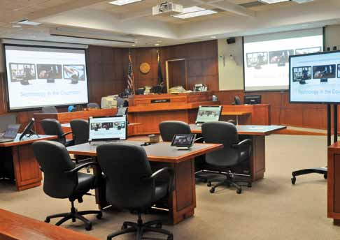 Attorneys must be prepared to use video depositions when practicing in Louisville's new digital courtrooms.