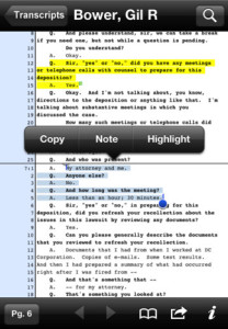 You can review, highlight and make notes right from your smartphone.