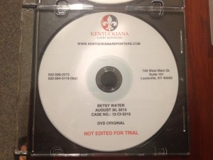 The bold red print tells you not to pop this disc into the new trial presentation equipment.