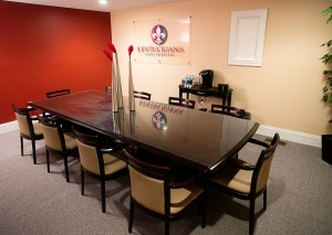 Our second comfortable and complimentary conference room.
